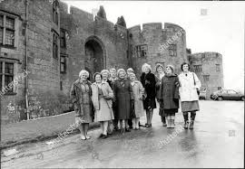 Wales Wrexham Chirk Castle Reunion Staff Chirk Editorial Stock ...