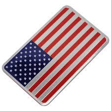 Usa American Flag Car Sticker Auto Metal Badge Decal Emblem Jeep Truck Blue Car Truck Decals Stickers Nuntiusbrokers Com