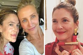 drew barrymore revealed why her makeup