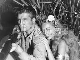 Jungle Goddess, from Left: George Reeves, Wanda Mckay, 1948' Photo -    AllPosters.com