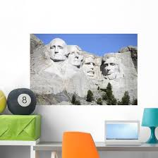 Mount Rushmore National Memorial Wall Decal Design 3 Wallmonkeys Com