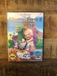 Chuck Rock II: Son of Chuck (Sega Genesis, 1993) for sale online ...