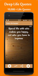 deep life quotes for android apk