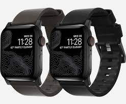 waterproof leather bands for apple watch