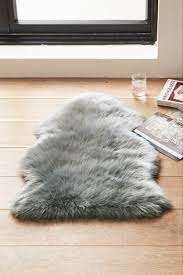 faux fur sheepskin rug from next japan