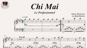 Chi Mai (Le Professionnel) - Ennio Morricone, Piano https://youtu ...
