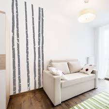 10 Foot Tall Skinny Birch Tree Wall Decals Birch Forest Wall Etsy