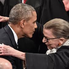 Ruth Bader Ginsburg dies: Barack Obama calls on Republicans to delay  filling vacancy – live | US news