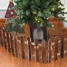 Christmas Picket Fence Christmas Tree Decor Wall Border Picket Fence Safety Pet Gate Baby Gate Fence Bbq Hearth Gate Installation Free Coffee Amazon In Grocery Gourmet Foods