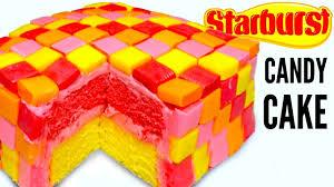 starbursts candy dessert cake