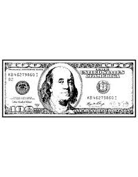 100 Dollar Bill Vinyl Wall Decal Sign Of Success Motivational 1560 Stickerbrand