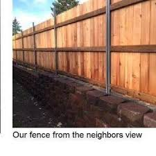 Retaining Block Wall And Fence Rebuild 2 X 100 Ft 2016 Ryobi Nation Projects