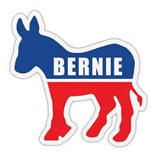 Bumper Sticker Bernie Sanders 2020 Democrat Donkey Political Campaign Decal 4 5 X 4 25 Walmart Com Walmart Com