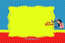 Imprimibles De Lilo Stitch Para Decoracion Kits Para Imprimir