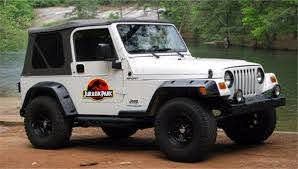 Product Jurassic Park Movie Decals 2x Removable Car Jeep
