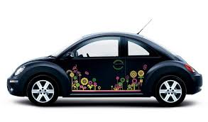 Yellow Flowers Vw Beetle Flower Magnetic Decal Car Truck Graphics Decals Auto Parts And Vehicles Tamerindsa Com Ar