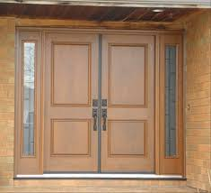 home double front door with sidelights