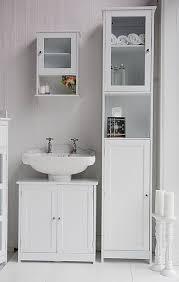 freestanding tall bathroom cabinet