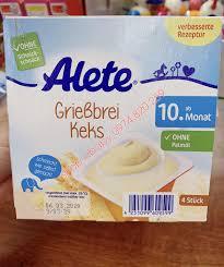 Sữa chua, Váng sữa Alete Đức 10m+ | Váng sữa,sữa chua và phô mai