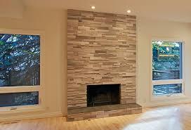 fireplace stone tile installation