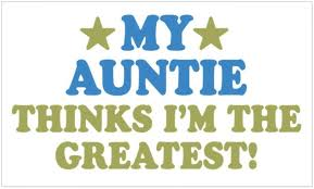 Amazon Com Cafepress Greatest Auntie Rectangle Bumper Sticker Car Decal Home Kitchen