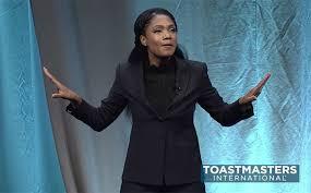 Alumna wins Toastmasters World Championship of Public Speaking