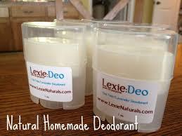 homemade natural deodorant recipe the