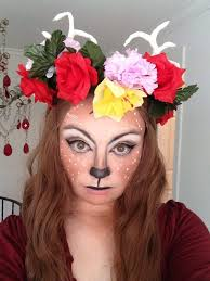 fawn fantasy makeup tutorial cosplay