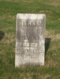Myra J. Stevens (1851-1852) - Find A Grave Memorial