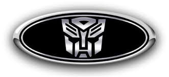 Ford Autobot Decals Darkside Racing Art Ford Overlay Logo Custom Emblem Decals