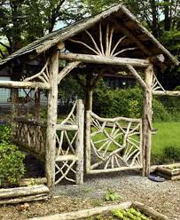 rustic garden gates decor ideas