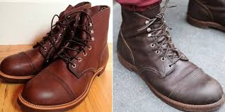 red wing boot oil vs mink oil what s