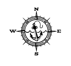 Anchor Compass Decal Anchor Vinyl Decal Compass Vinyl Decal Etsy Car Decals Vinyl Vinyl Decals Boat Decals