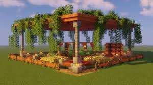 First Garden Design I Made Minecraft