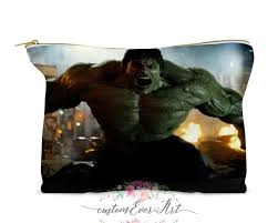 2020 the incredible hulk cosmetic bag