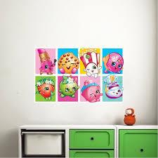 Cute Shopkin Wall Mural Decal Girls Shopkin Bedroom Decals Shopkin Wall Decal Shopkin Stickers Shopkins Wall Designs Wall Mural Decals Bedroom Decals Wall Design