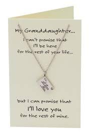 davanee happy birthday granddaughter necklace jewelry