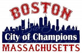 Boston Massachusetts Vinyl Decal City Of By Lilbitolove On Zibbet