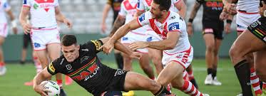 Cleary stars as Penrith outlast Dragons ...