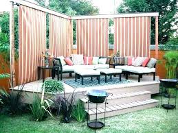 diy outdoor privacy screen ideas garden