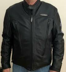 harley davidson fxrg leather jacket