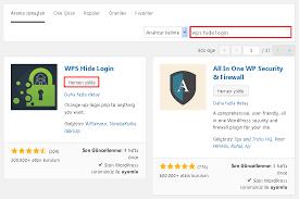 wordpress wp login ve wp admin giriş