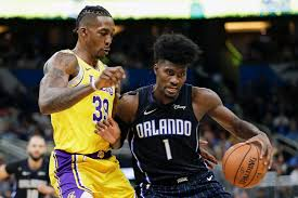 Lakers' Dwight Howard involved in fracas with Orlando Magic, but ...