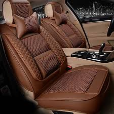 7 seater car seat cushion leather cover