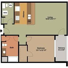 Floor Plan Style E4 (ADA) - Jackson Square