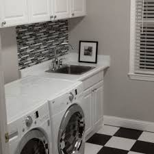 grey laundry room with bliss midnight