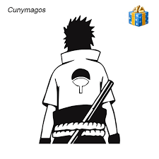 Naruto Anime Clan 15 Years Vinyl Decal Laptop Bumper Car Decor Sticker Wall