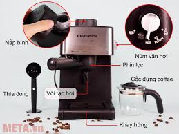 Máy pha cà phê Espresso Tiross TS-621 giá tốt, giao toàn quốc - META.vn