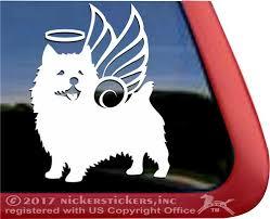 Custom Norwich Terrier Dog Decals Stickers Nickerstickers