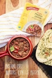 instant pot madras lentils recipe